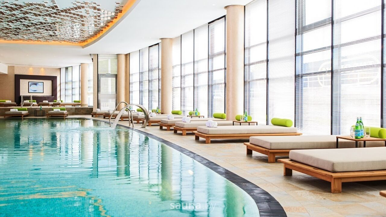 Бассейн в отеле Президент, SPA&Wellness центр Минск